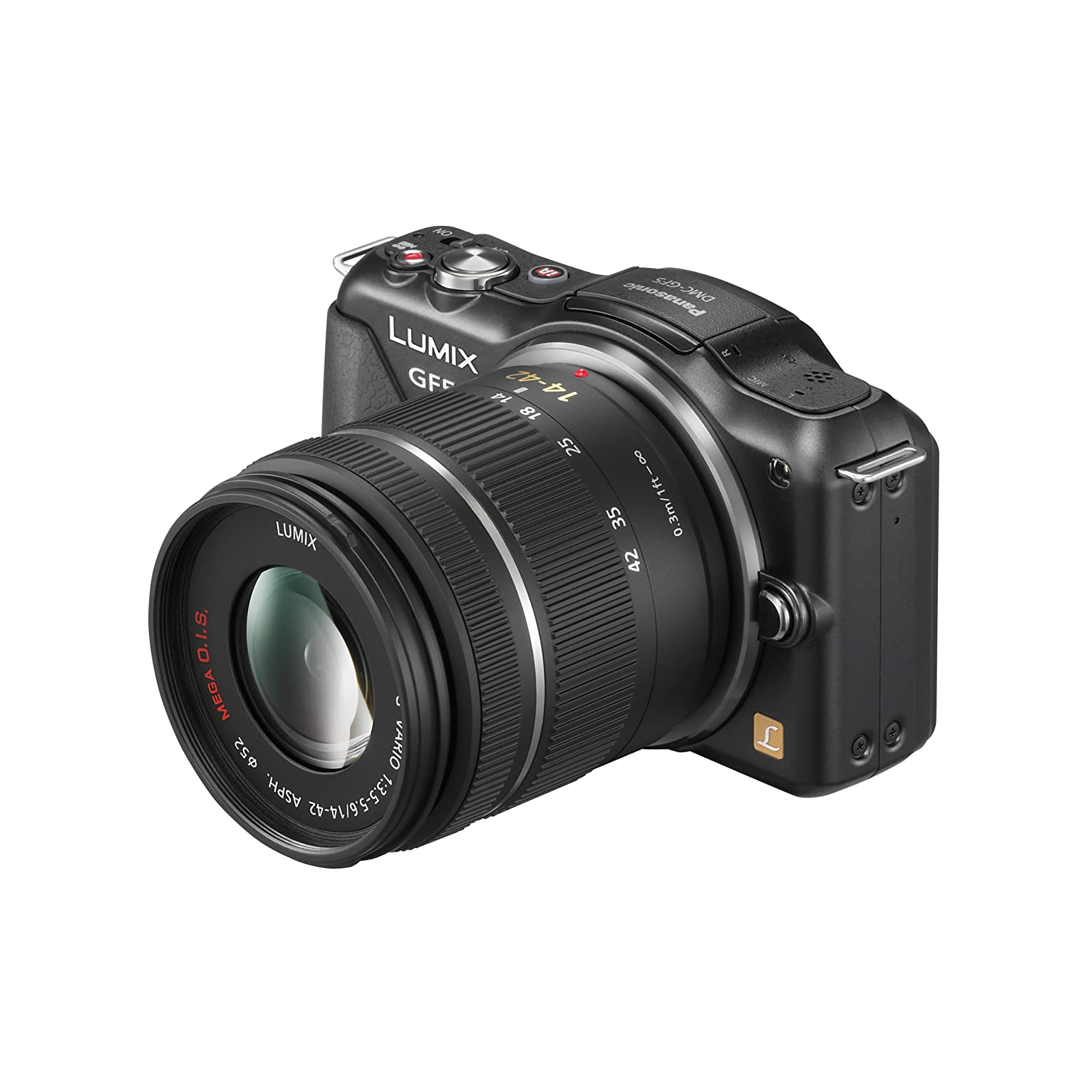 Panasonic DMC-GF5KK 12 MP Compact System Camera with 3-Inch Touch Screen and 14-42 Zoom Lens ($349.99)