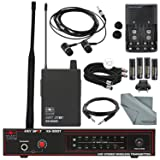 Galaxy Audio AS-900N4 Any Spot Series Wireless Personal Monitoring System (N Band, 521.85 MHz) and Accessory Bundle