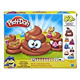 Play-Doh Poop Troop Set with 12 Cans (Color: Multi, Tamaño: 60Cm)