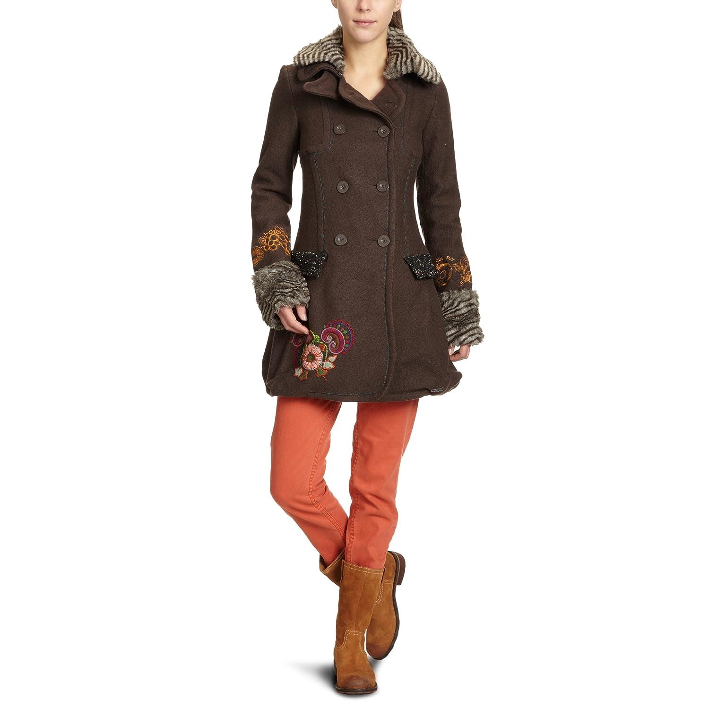 manteaux et vestes desigual manteau femme. Black Bedroom Furniture Sets. Home Design Ideas