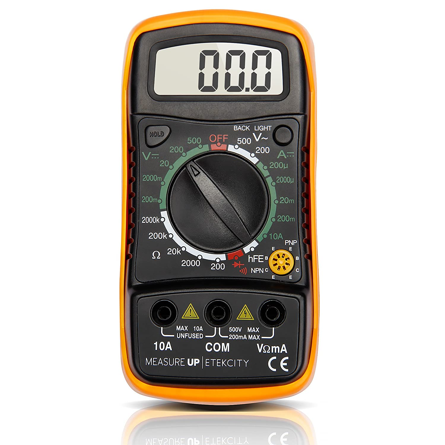 Etekcity Digital Multimeter (DMM) Multi Tester
