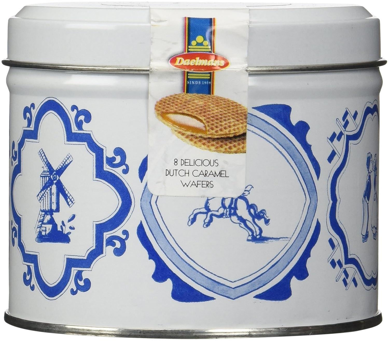 Daelmans Large Stroopwafels Gift Tin, 8.1 oz