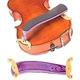 Kun Original Mini Purple Shoulder Rest for 1/8 - 1/4 Violin