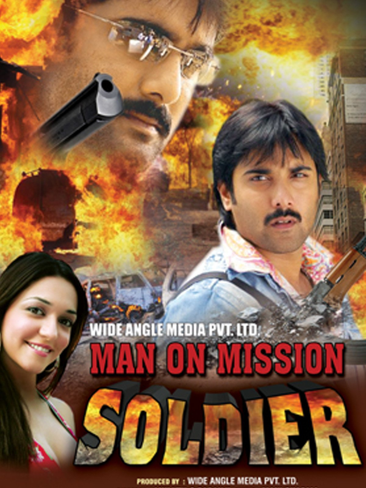 Man on Mission Soldier