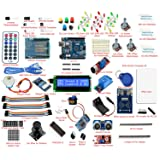 Frentaly® Super Value Ultimate UNO R3 Starter Kit SK#1 for Arduino Stepper Servo Motor Relay RTC RFID Display kit