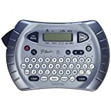 Brother P-touch Label Maker, Personal Handheld Labeler, PT70BM, Prints 1 Font in 6 Sizes & 9 Type Styles, Two-Line Printing (Color: Silver)