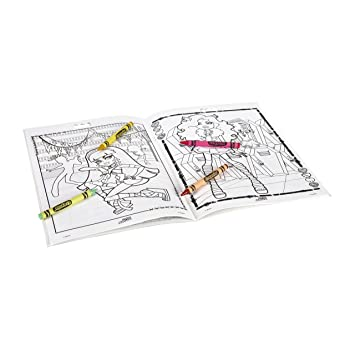 Amazon Com Crayola Color Alive Action Coloring Pages Mythical