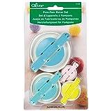 Clover 3129 Set Pom Maker, Multiple 4 Pack (Color: Multiple, Tamaño: 4 Pack)