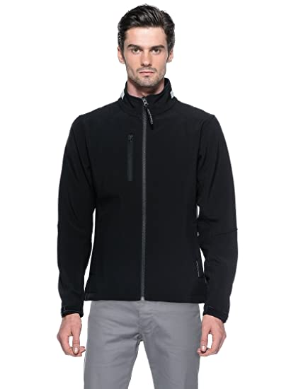 Tucano urbano 872N3 gUSCIO wIND veste stretch polyester with fleece jacket lining.-noir-taille s