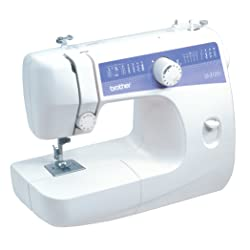Brother Easy to Use Sewing Machine With Blind Hem and Zigzag LS2125i
