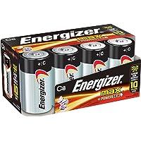 Energizer Max Premium 8-Count C Cell Alkaline Batteries