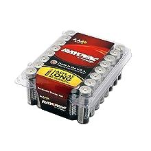 Rayovac UltraPRO Alkaline AA Batteries, ALAA-48, 48-Pack