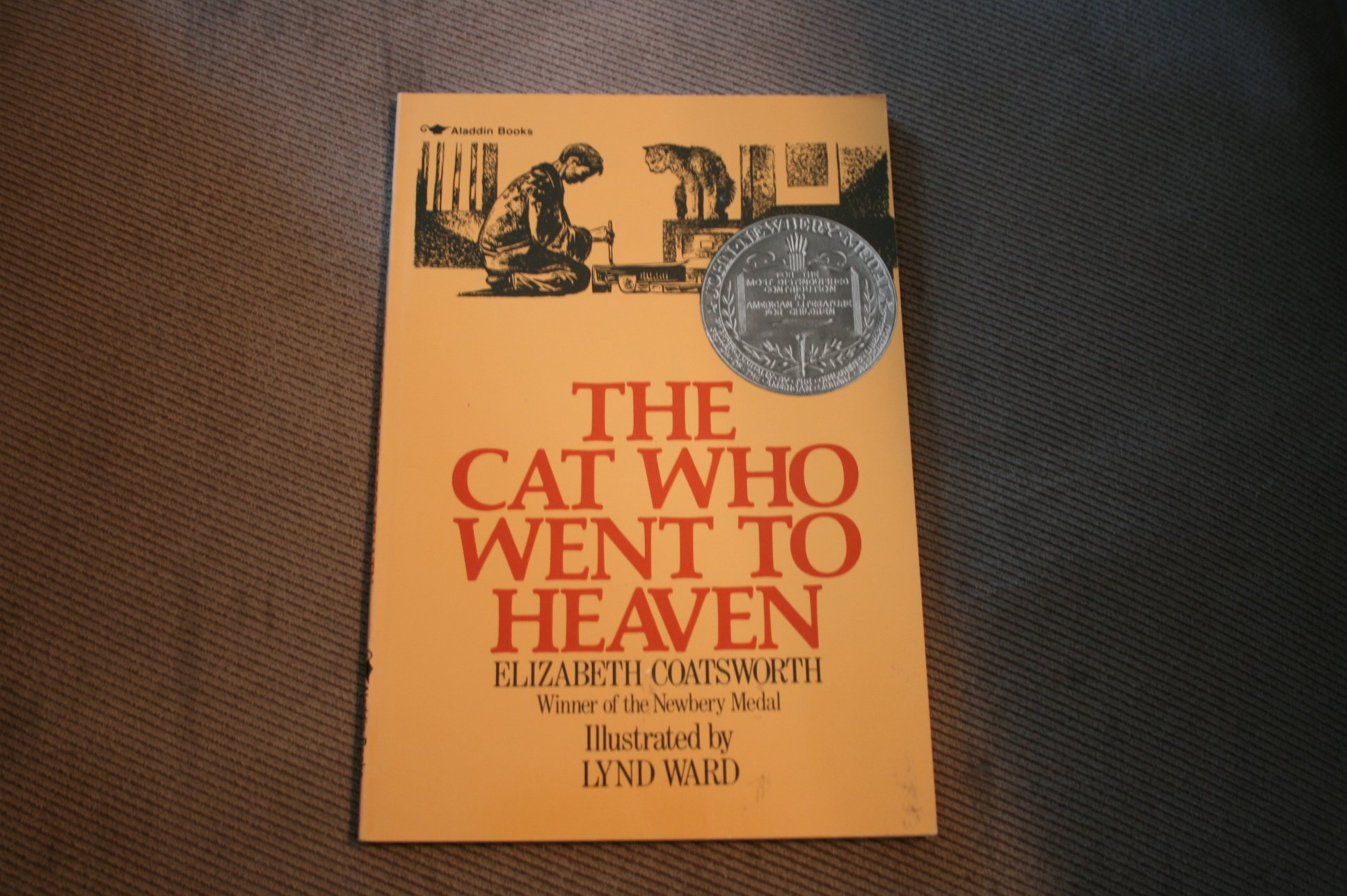Cat Who Went to Heaven, Coatsworth, Elizabeth Jane