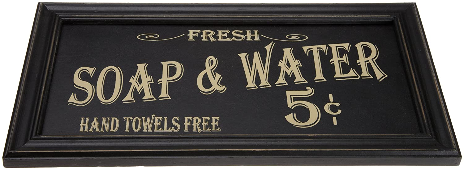 amazon vintage soap water bathroom wall art only reg