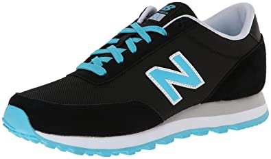 New Balance Classic Traditionnels Black White Womens Trainers