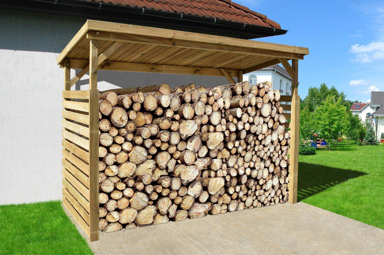 Weka Garten Brennholzlager / Unterstellplatz Big 2, 19 mm, kdi