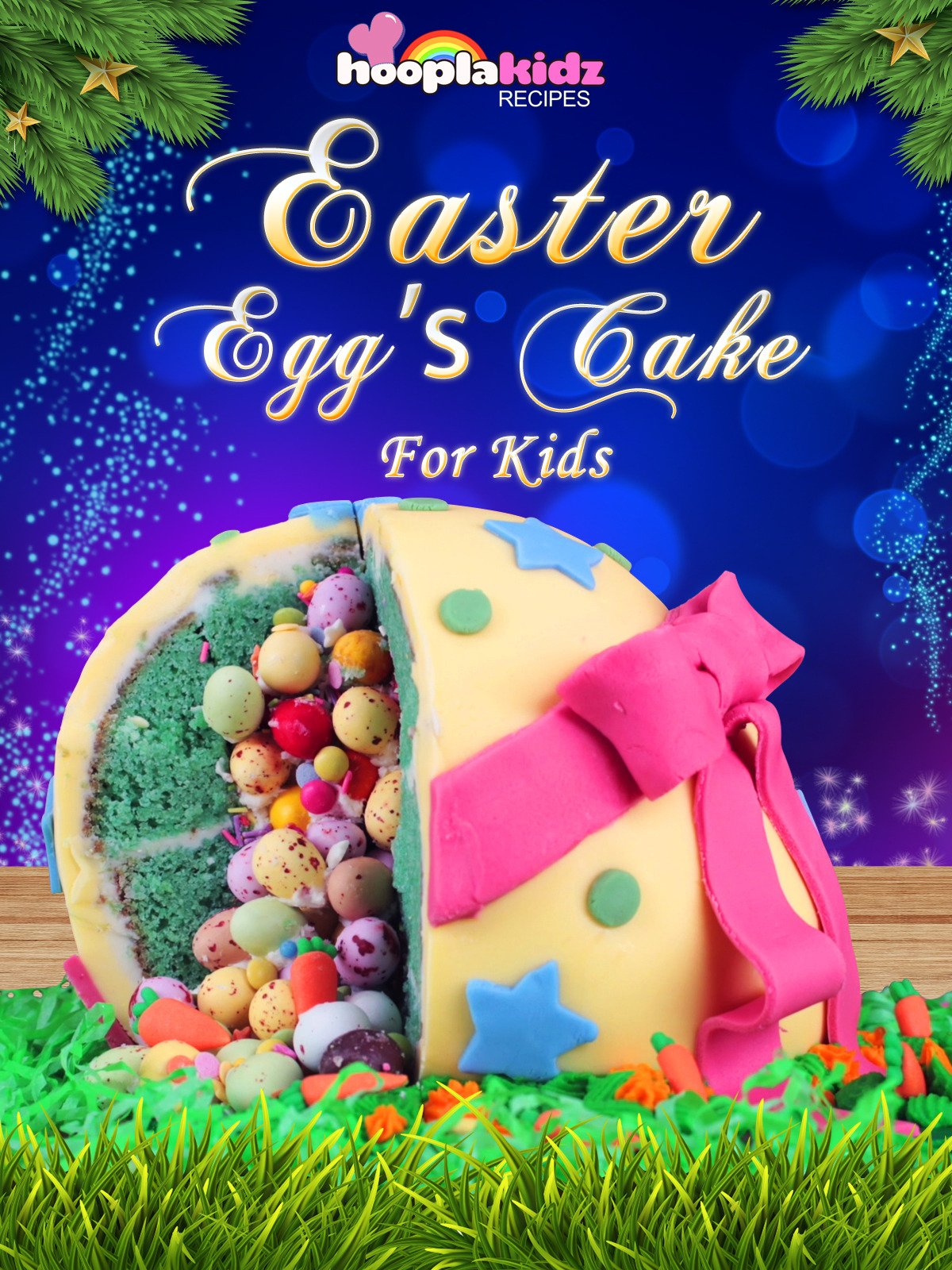Easter Egg's Cake for Kids