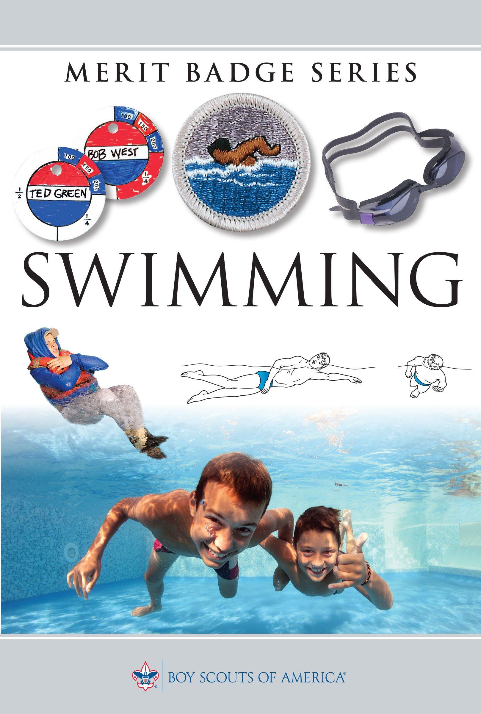 Lifesaving Merit Badge Swimming Merit Badge Series