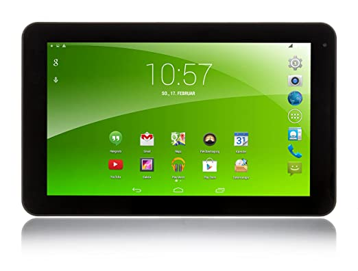 Xoro TelePAD 9A1 22,9 cm (9'') Tablette Tactile (MT8312 1,3GHz Dual Core, 1Go RAM, 8Go Flash Speicher, WLAN, UMTS 3G, GPS, BT, FM Radio, USB, Android 4.4) (Import Europe)