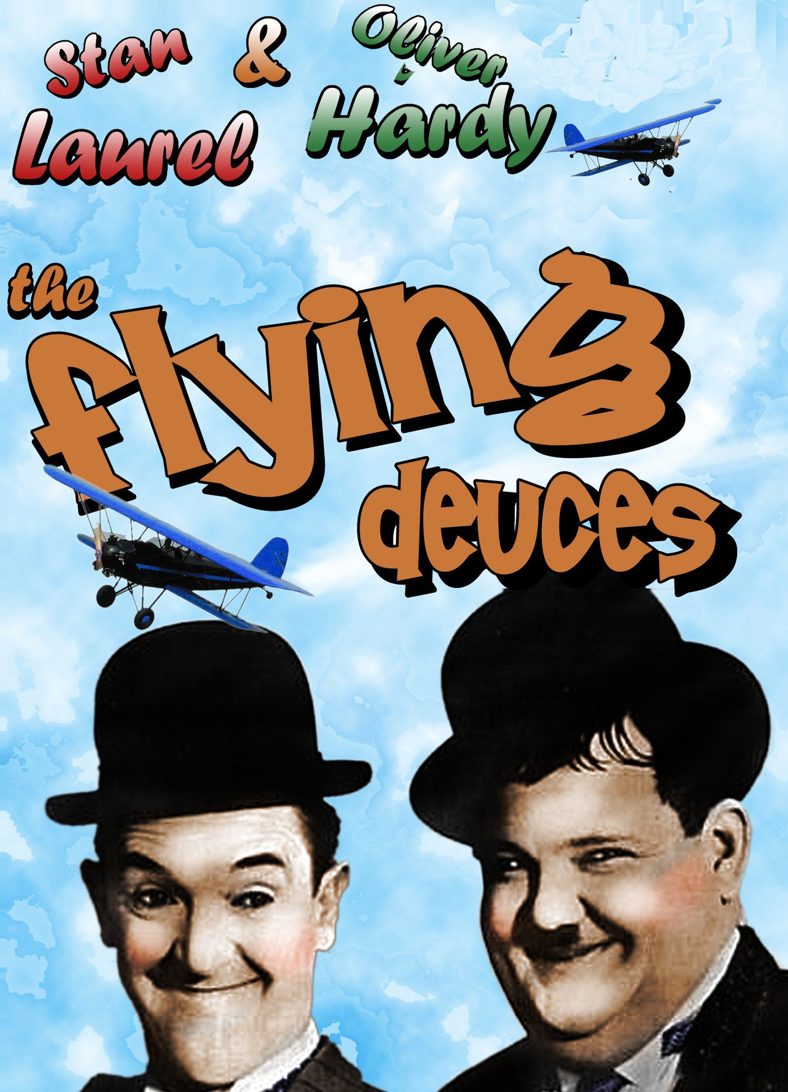 Laurel and Hardy The Flying Deuces (1939)