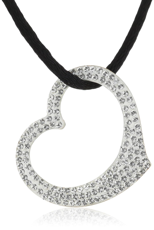 Crystelle Damencollier 333/-Gelbgold 42-47cm Swarovski Kristalle wei 500341021 günstig online kaufen