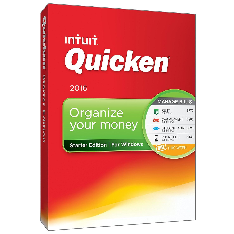 Intuit Quicken Starter Edition 2016