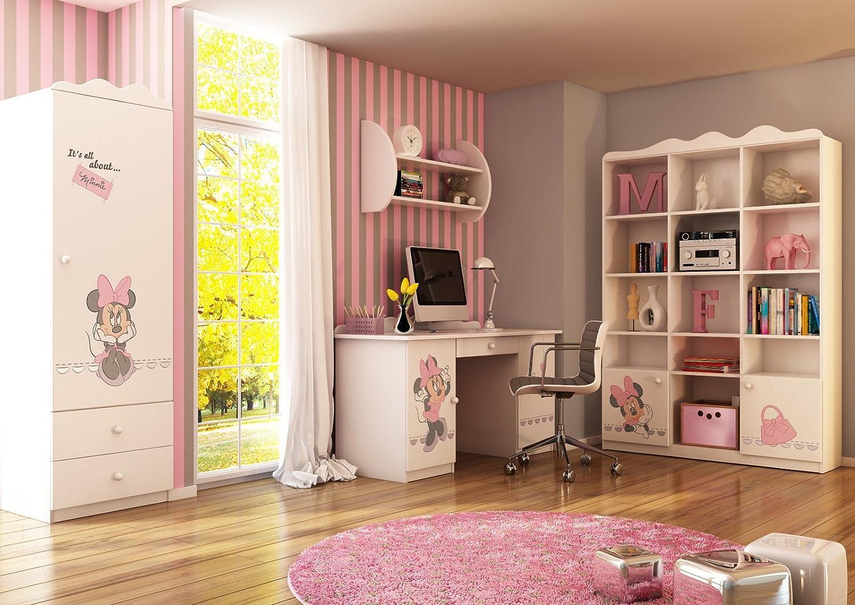 Schlafzimmer-Set Kindermöbel 'Minnie Mouse 3′ Jugendzimmer komplett Kinderzimmer online bestellen