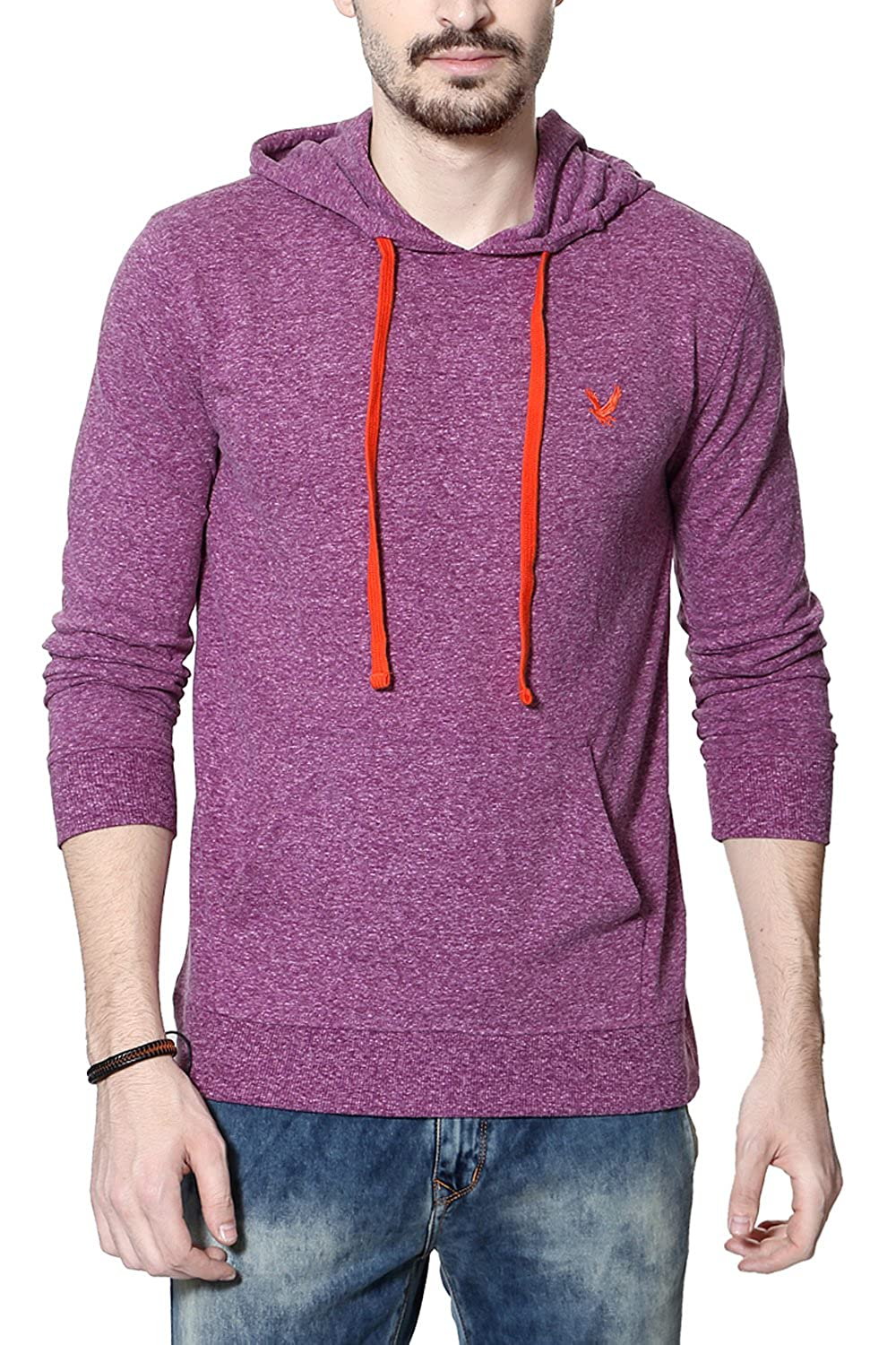Flat 50% off Pantaloons Men's Clothing By Amazon | Urban Eagle by Pantaloons Men Cotton Sweatshirt @ Rs.649