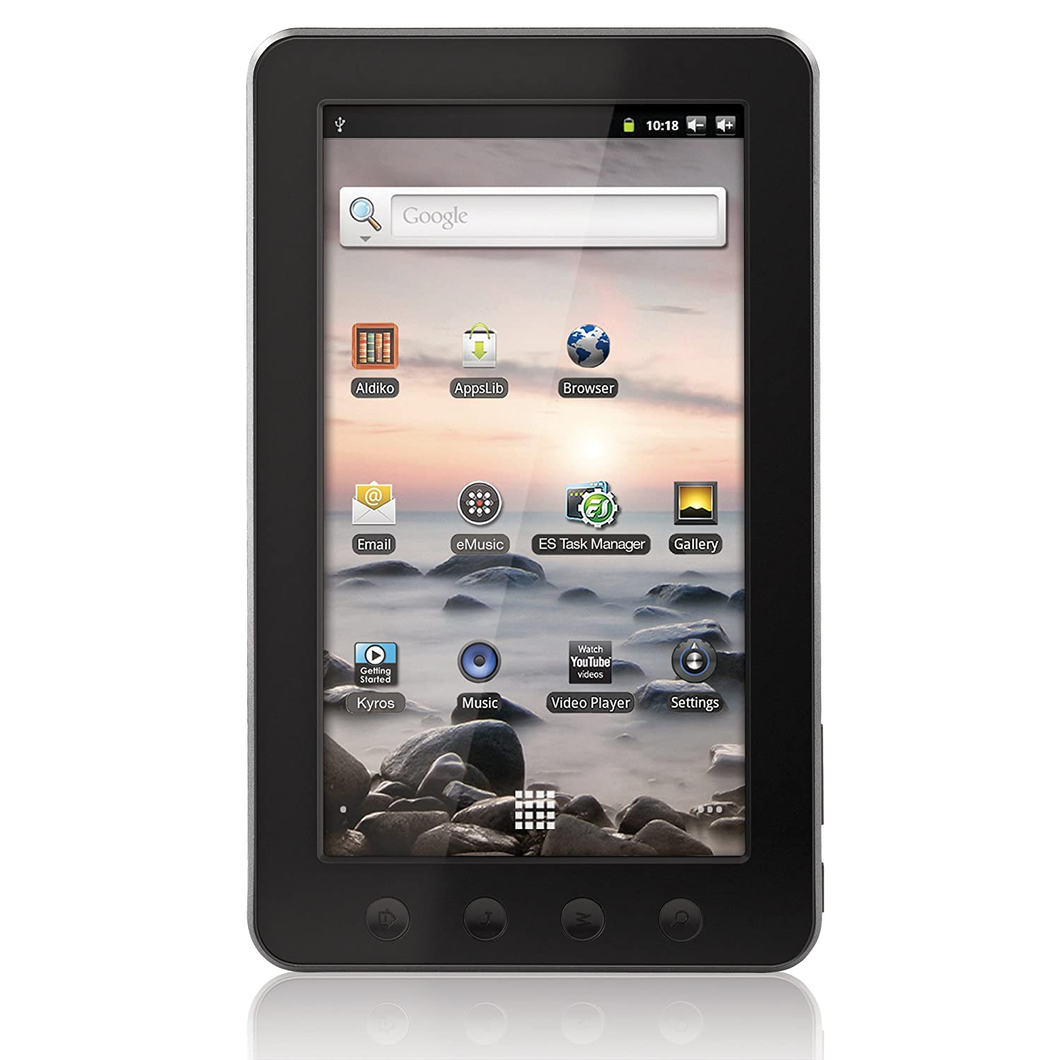 Coby Kyros 7-Inch Android 2.3 4 GB Internet Touchscreen ...