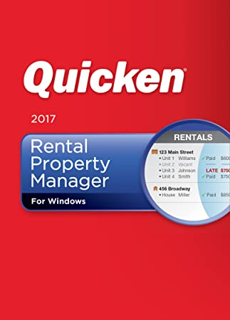 Quicken Rental Property Manager 2017 Personal Finance & Budgeting Software [Download]