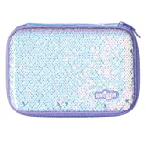 Smiggle Dreamy Hardtop Pencil Case (Purple) (Color: Purple)