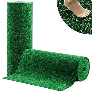 casa pura® Kunstrasenteppich Spring  pflegeleicht & sehr belastbar  Zuschnitt nach Maß  grün  200x800cm  BaumarktKundenbewertung und weitere Informationen