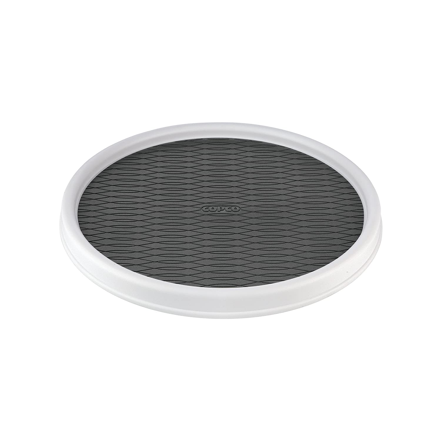 Copco Non-Skid Cabinet Turntable - Outer rim prevents items from falling off