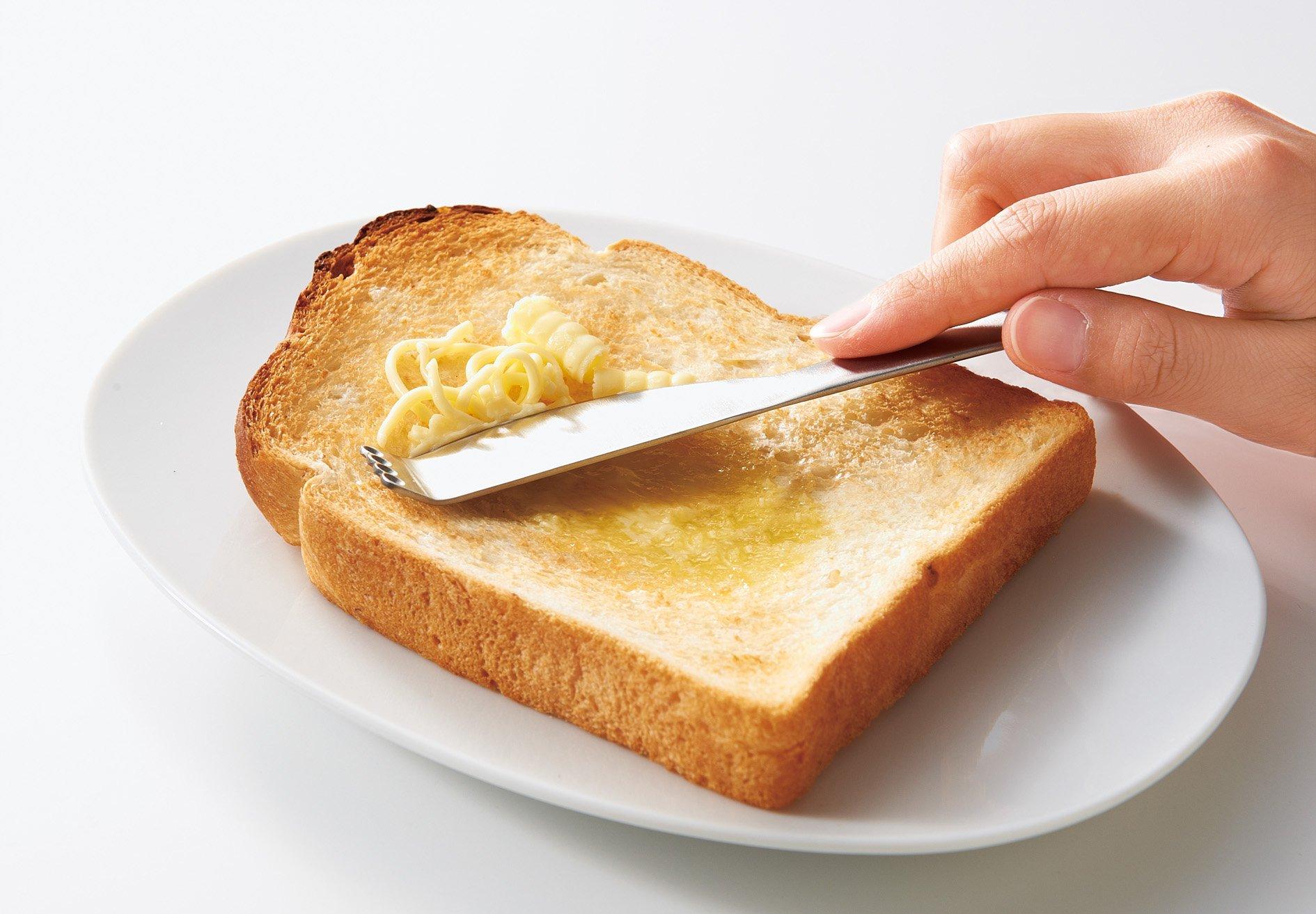 コジット バターピーラーナイフ 【冷蔵庫で固くなったバターが簡単に削れる! 】