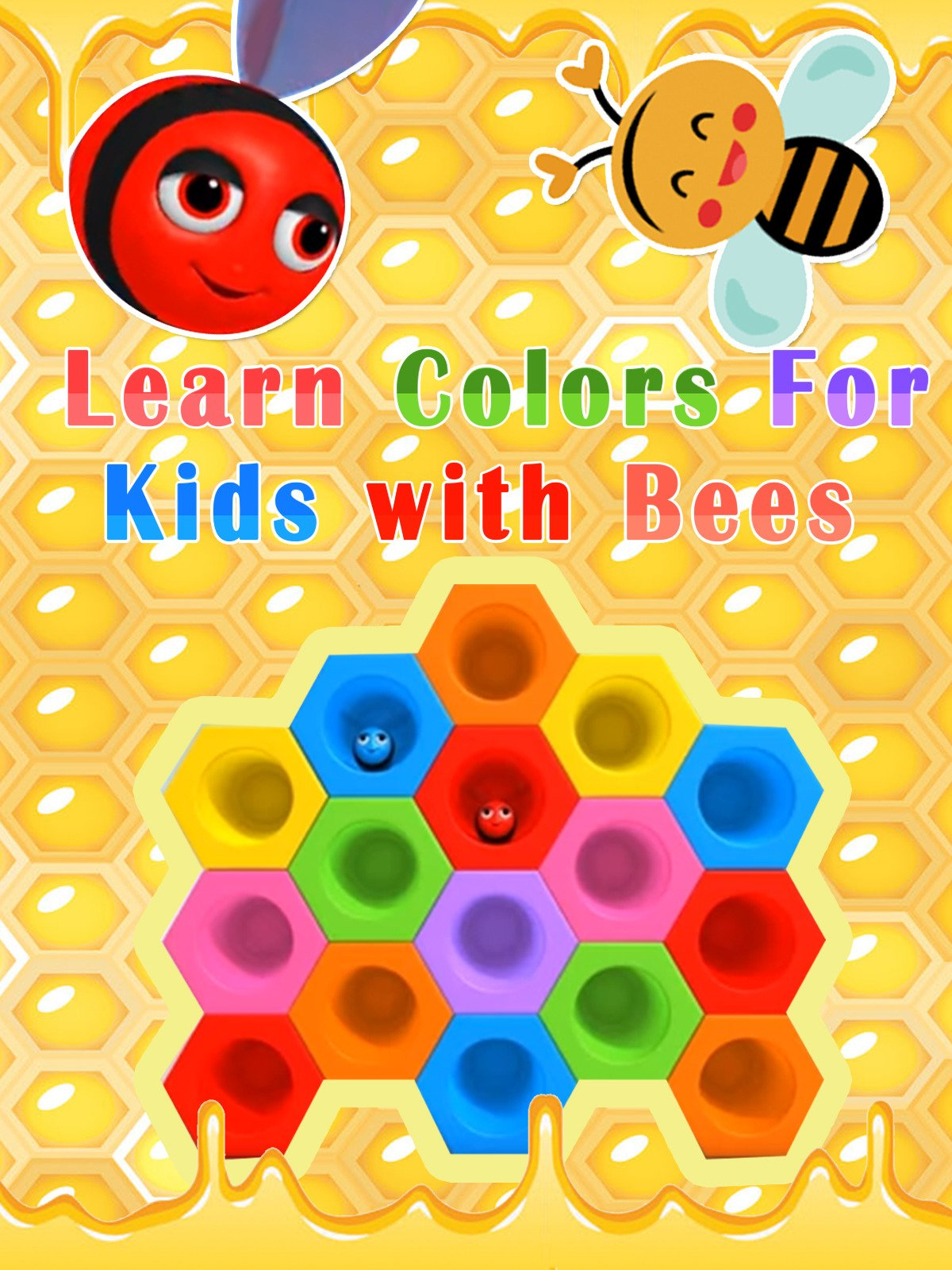 Learn Colors For Kids with Bees
