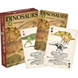 Aquarius Smithsonian Dinosaur Playing Cards