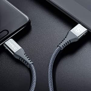 USB Type C Cable,Sweguard 3-Pack (3.3ft.6ft?) USB A to USB-C Fast Charger Nylon Braided Cord for Samsung Galaxy S8 S9 S10 Plus Note 9 8,Google P