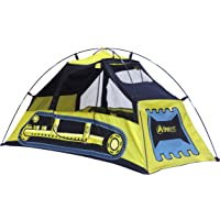 GigaTent CT060 Bulldozer Play Tent in Yellow/Black
