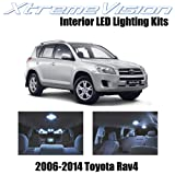 XtremeVision Toyota RAV4 2006-2014 (6 Pieces) Cool White Premium Interior LED Kit Package + Installation Tool