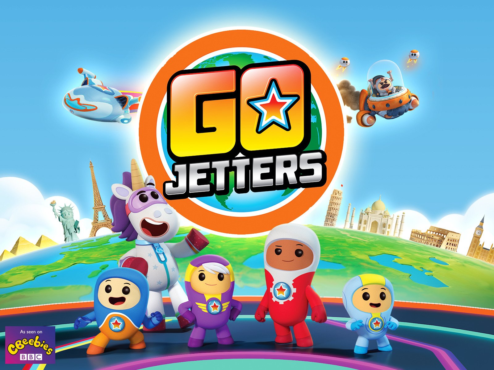 Go Jetters, The Eiffel Tower and other stories - Season 101