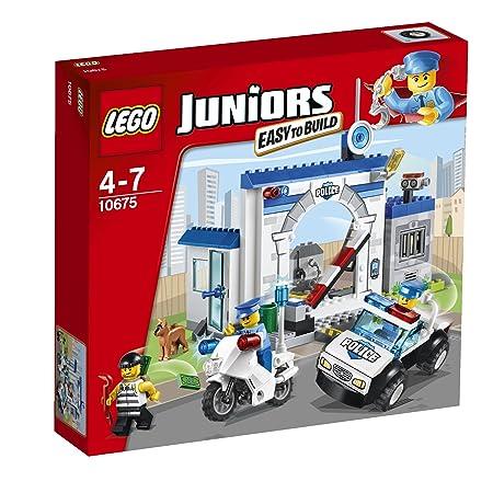 Lego Juniors - 10675 - Jeu De Construction - Ma Première Caserne De Police