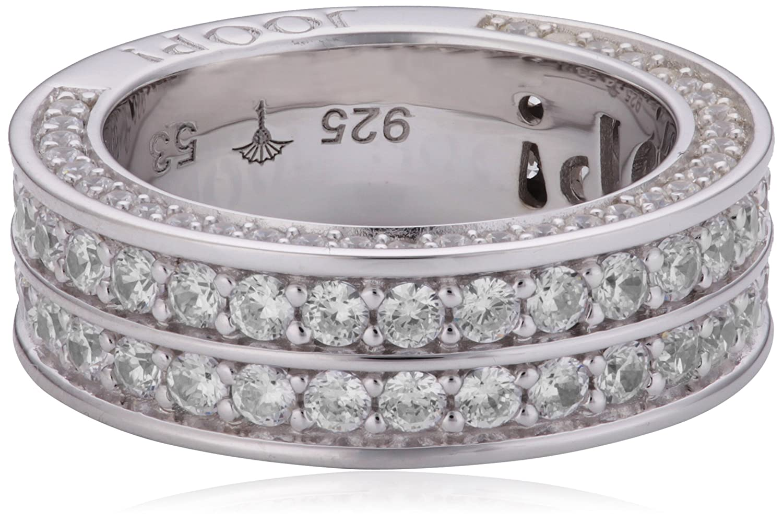Joop Damen-Ring Zirkonia weiss 925 Sterling Silber Gr. 53 (16.9) JPRG90666A530