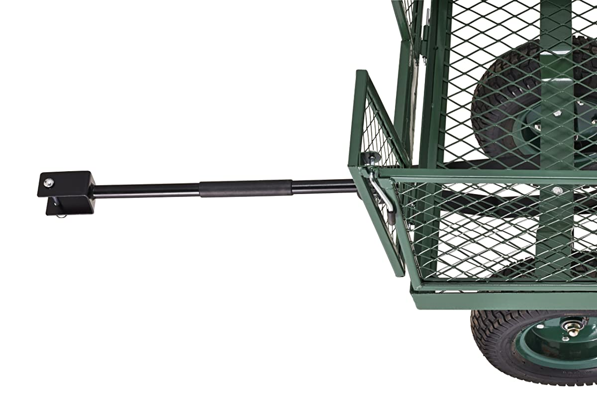 "Sandusky Lee CW4824 Muscle Carts Steel Utility Garden Wagon, 1000 lb. Load Capacity, 21-3/4"" Height x 48"" Length x 24"" Width"