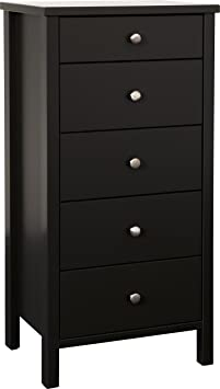 Steens Furniture 1850050049000F Kommode, MDF, 106 x 53 x 41 cm, schwarz/ braun