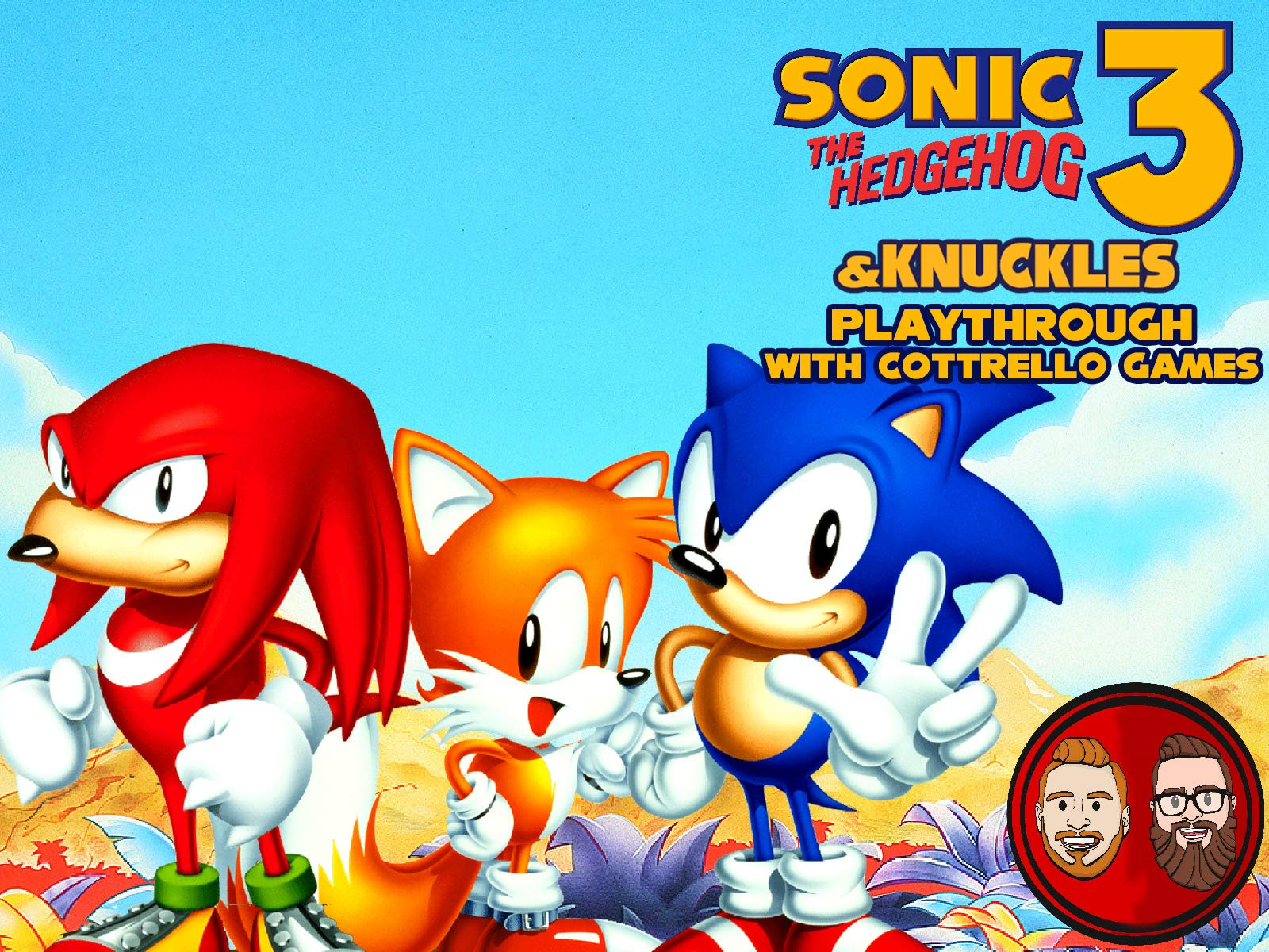 Watch Sonic The Hedgehog 3 Knuckles Playthrough With Cottrello Games On Amazon Prime Video Uk Newonamzprimeuk