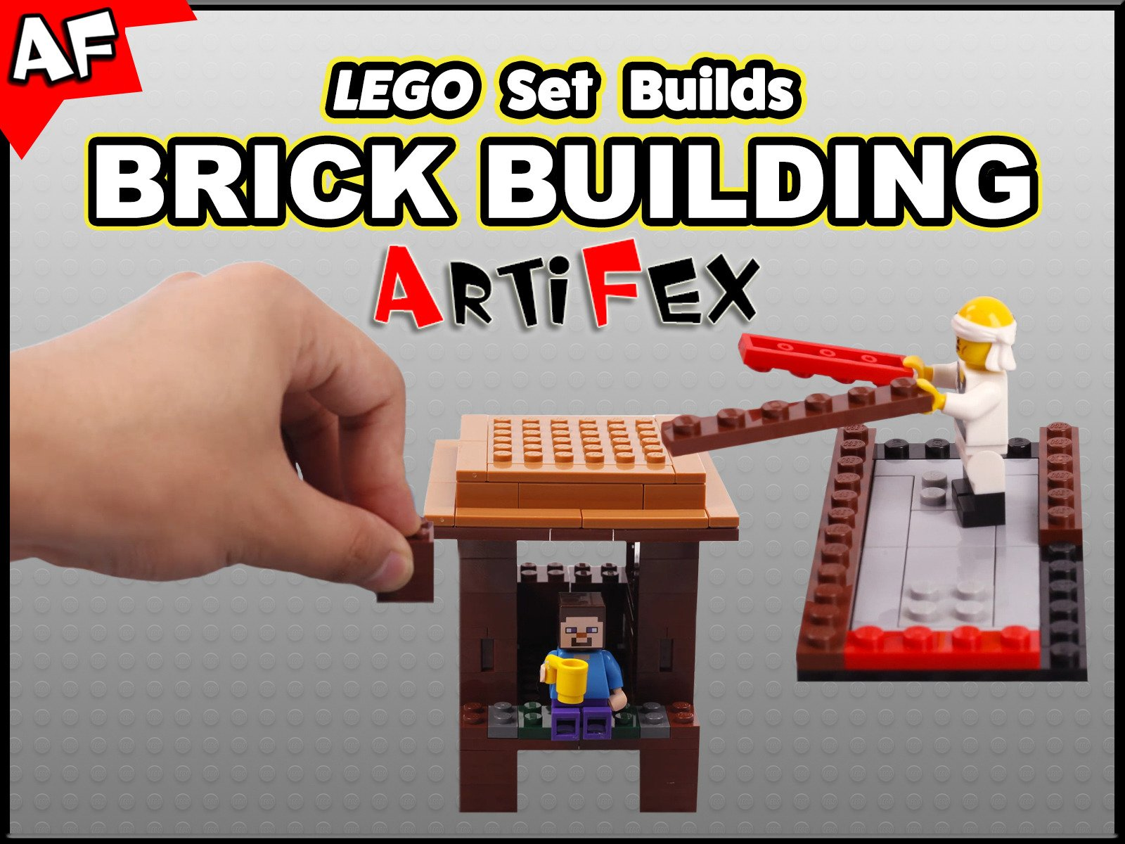 Clip: Lego Set Builds Brick Building - Season 1