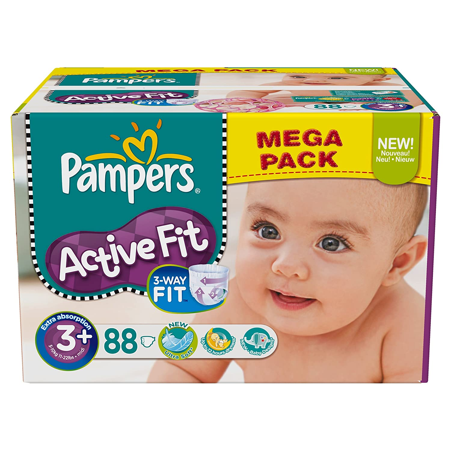 Pampers taille - Achat couches pampers en gros pas cher ...