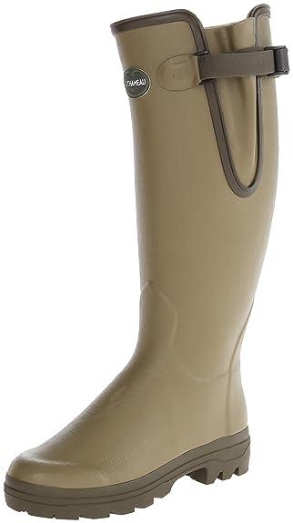 Le Chameau Women's Vierzon Leather Rain Boot