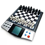iCore Chess Set Boards Game, 8 in 1 Travelling Talking Electronic Chess Master Pro Tournament (Color: Black)