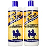 Mane 'N Tail Combo Deal Shampoo and Conditioner, 32-Ounce (Color: Basic, Tamaño: 32oz)